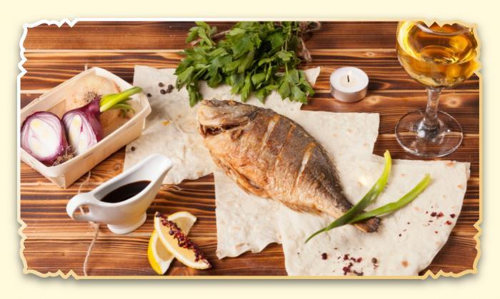Дорада - Ресторан Восточная сказка - Восточная кухня в Миассе