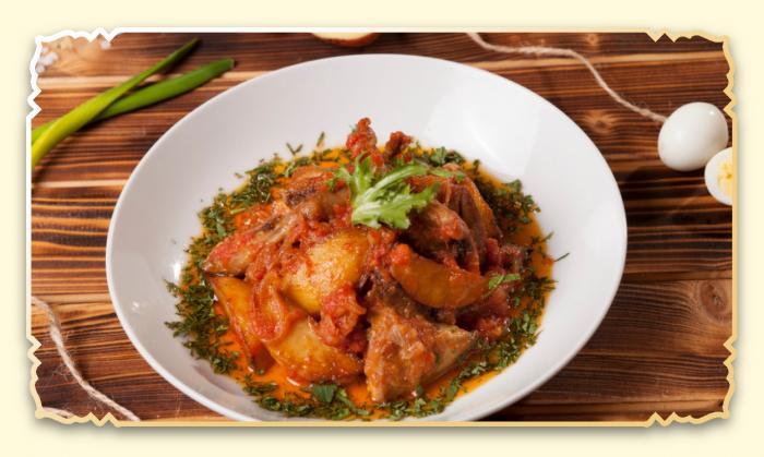 Рагу с бараниной - Ресторан Восточная сказка - Восточная кухня в Миассе