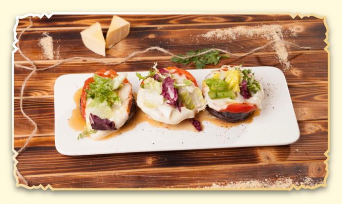 Баклажаны, запеченные с сыром - Ресторан Восточная сказка - Восточная кухня в Миассе