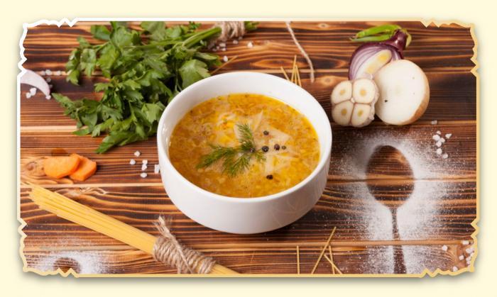 Суп-лапша куриный - Ресторан Восточная сказка - Восточная кухня в Миассе