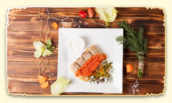 Голубцы - Ресторан Восточная сказка - Восточная кухня в Миассе