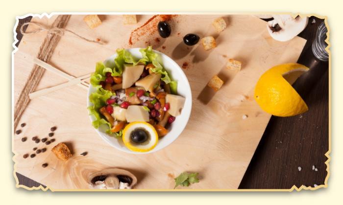 Грибы маринованные - Ресторан Восточная сказка - Восточная кухня в Миассе