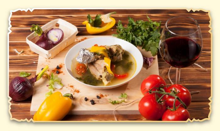 Хашлама из баранины - Ресторан Восточная сказка - Восточная кухня в Миассе