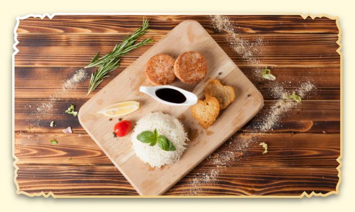 Котлеты из мяса краба - Ресторан Восточная сказка - Восточная кухня в Миассе