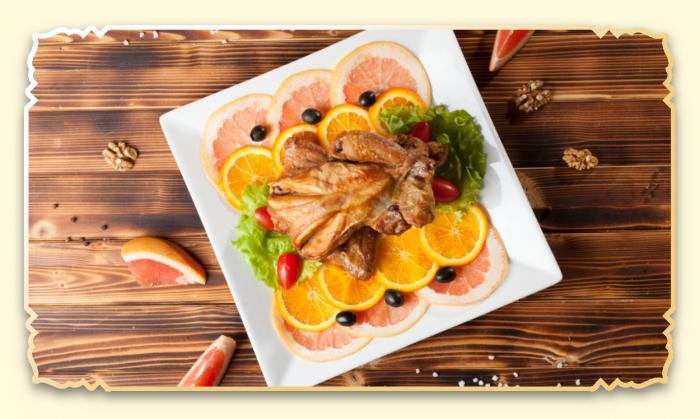 Курица лявянги - Ресторан Восточная сказка - Восточная кухня в Миассе