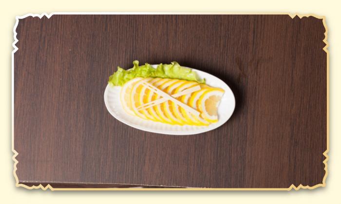 Лимон - Ресторан Восточная сказка - Восточная кухня в Миассе