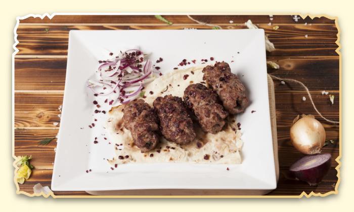 Люля-кебаб из баранины - Ресторан Восточная сказка - Восточная кухня в Миассе