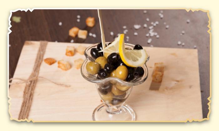 Оливки, маслины - Ресторан Восточная сказка - Восточная кухня в Миассе