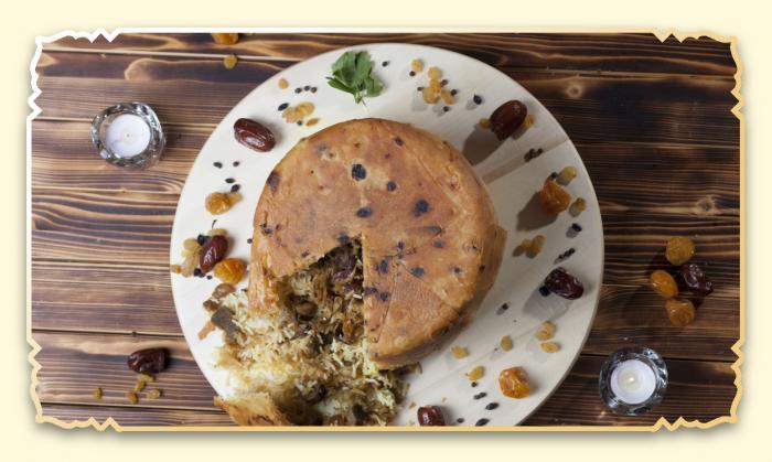 Шах-плов по азербайджански - Ресторан Восточная сказка - Восточная кухня в Миассе
