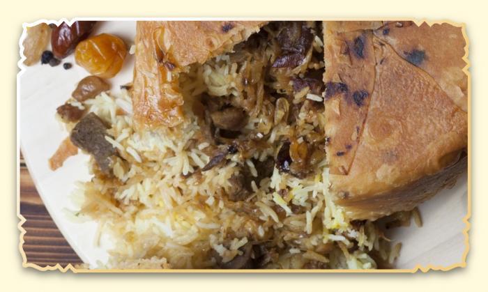 Шах-плов с сухофруктами - Ресторан Восточная сказка - Восточная кухня в Миассе