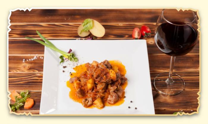 Рагу с мясом цыпленка - Ресторан Восточная сказка - Восточная кухня в Миассе