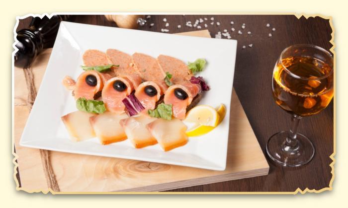 Рыбное ассорти - Ресторан Восточная сказка - Восточная кухня в Миассе