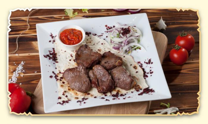 Шашлык из бараньей мякоти - Ресторан Восточная сказка - Восточная кухня в Миассе