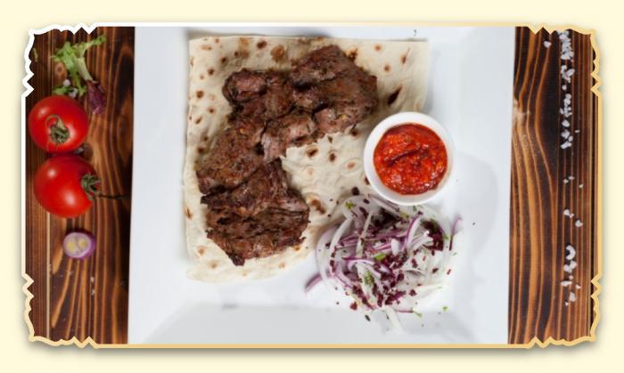 Шашлык из телячьей вырезки - Ресторан Восточная сказка - Восточная кухня в Миассе