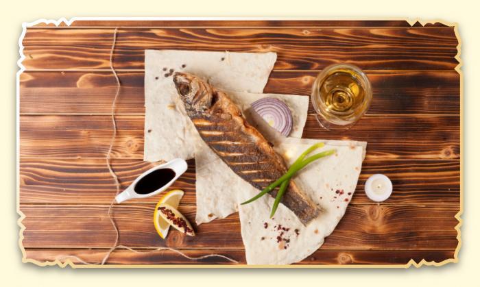 Сибас - Ресторан Восточная сказка - Восточная кухня в Миассе