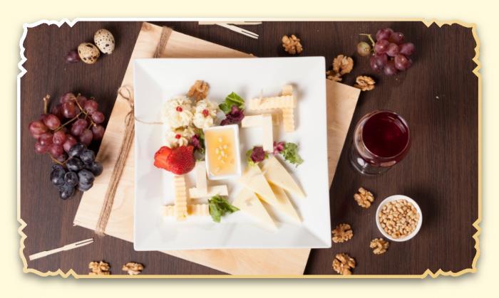 Сырное ассорти - Ресторан Восточная сказка - Восточная кухня в Миассе