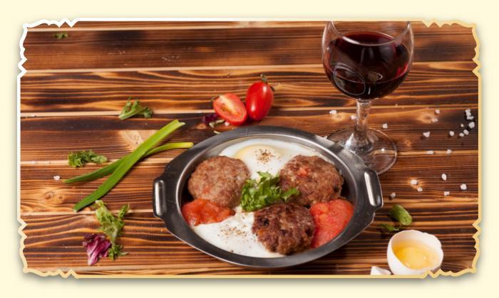 Тава-кебаб - Ресторан Восточная сказка - Восточная кухня в Миассе